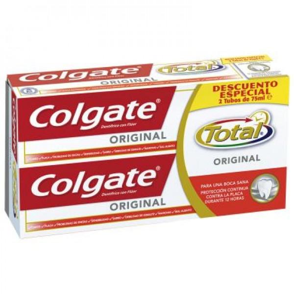 Colgate original pack descuento especial 2 x 75ml proteccion 12h