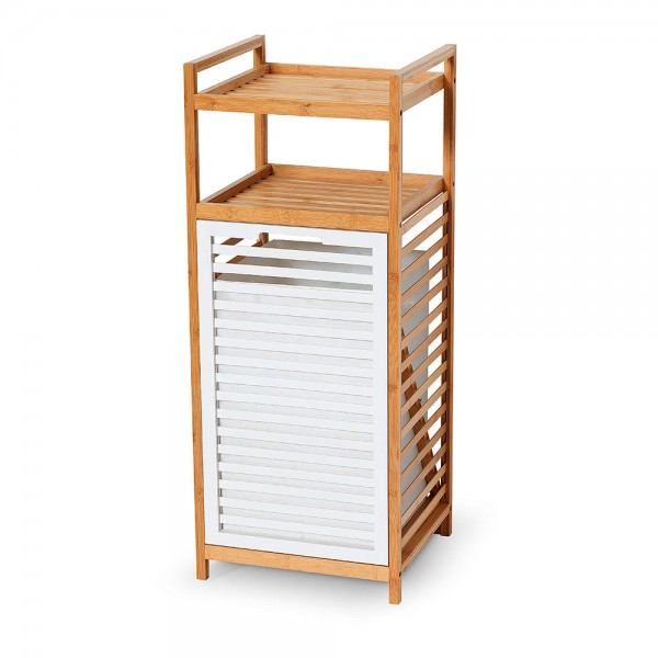 Mueble bambú con pongotodo y estanterias bambu 90,5x36,8x33,5cm jobgar